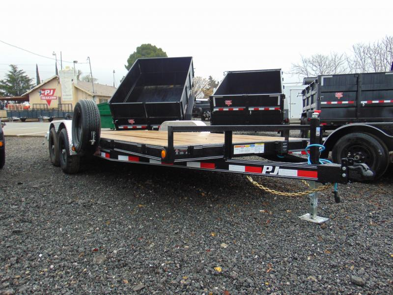 2019 PJ Trailers 83X18 Car / Racing Trailer
