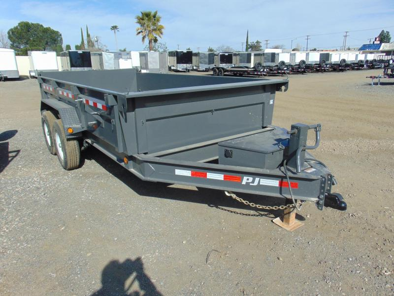 2019 PJ Trailers 83X14 Dump Trailer in Ashburn, VA