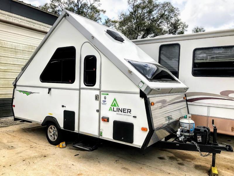 2016 Aliner Ranger 15 Hard Side A Frame Travel Trailer