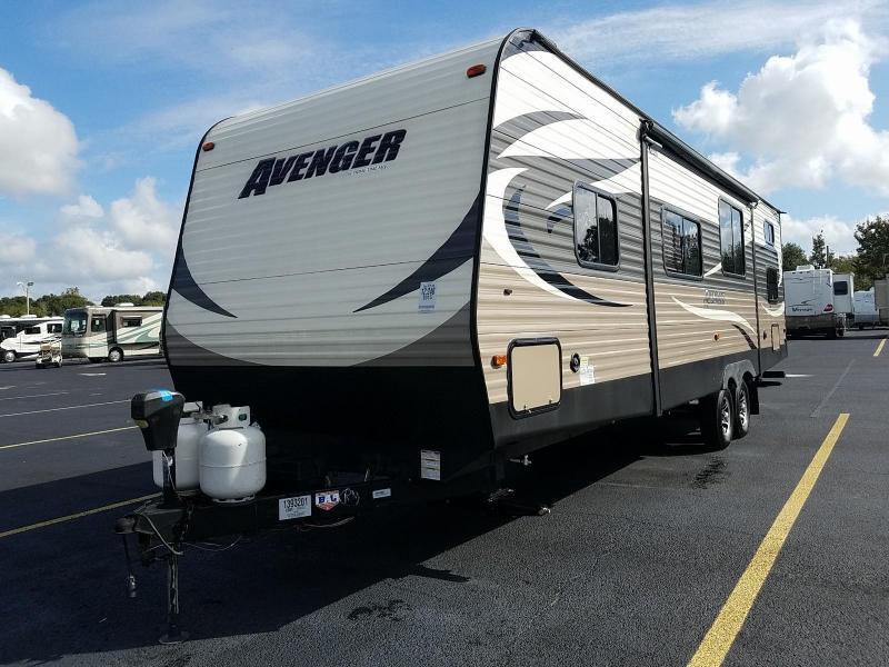 2015 Forest River Avenger 28 DBS BUNKHOUSE Travel Trailer
