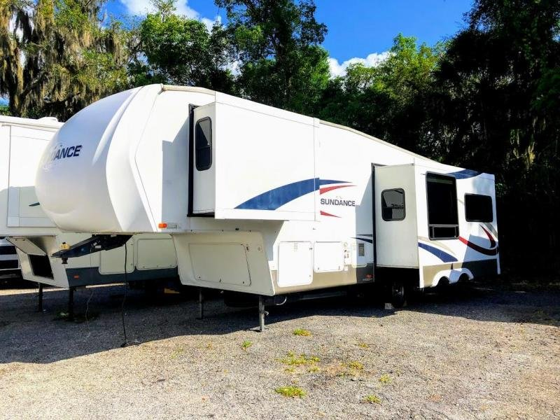 2008 Heartland Sundance 2800RLS Fifth Wheel Travel Trailer