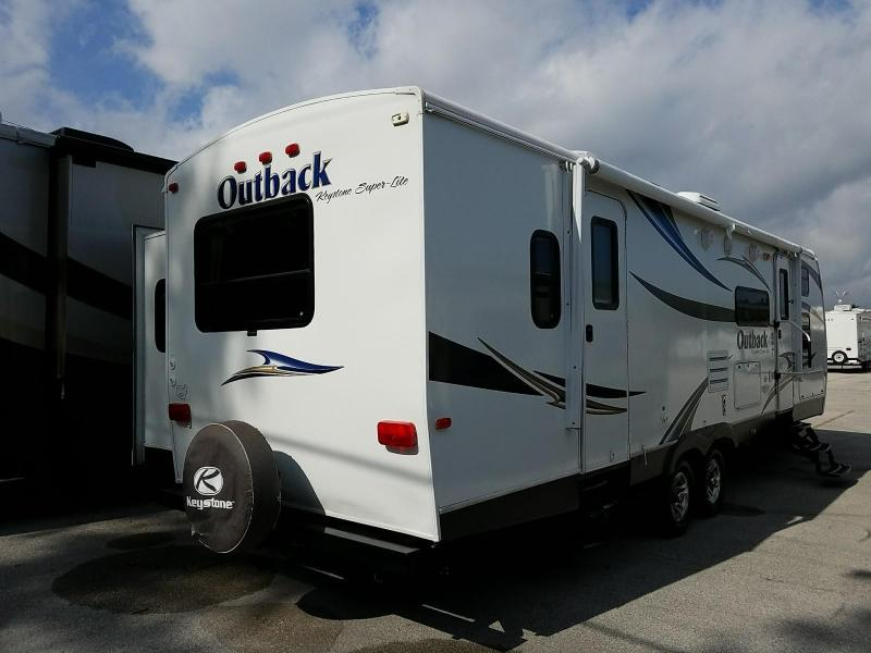 2011 Keystone RV Outback 10th Anniversary 301 BQ BUNKHOUSE Travel Trailer