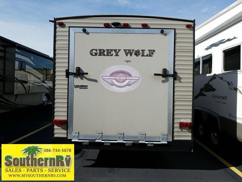 2016 Forest River Cherokee Grey Wolf Toy Hauler 26RR Toy Hauler