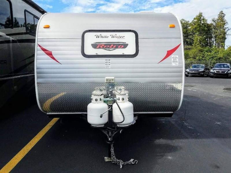2014 Riverside WHITE WATER RETRO 177 Travel Trailer