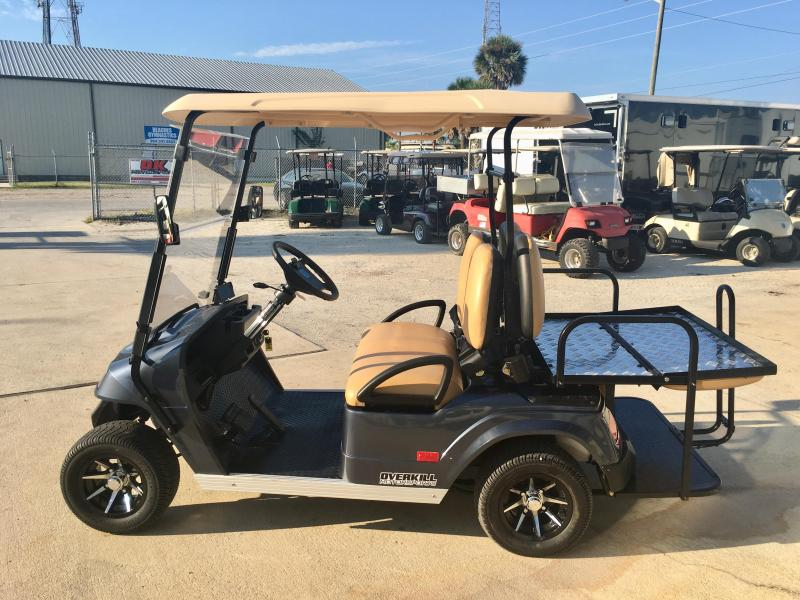 2019 StarEV Classic 48V Electric Golf Cart Street Legal 4 Pass - Navy