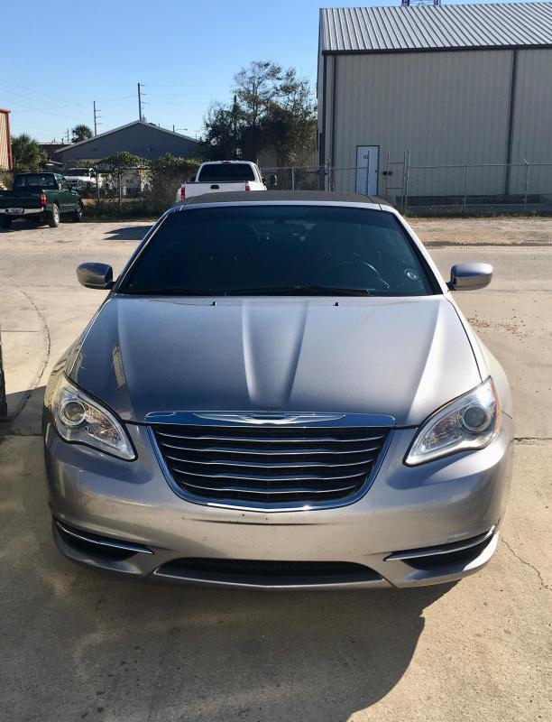 2013 Chrysler 200 Convertible 2 Door Touring - Silver