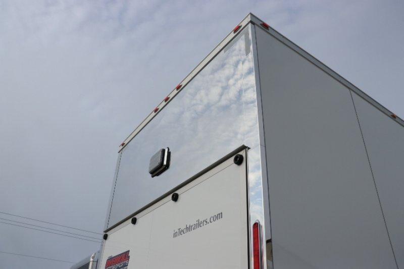 2019 inTech 32' All Aluminum Stacker Race Trailer