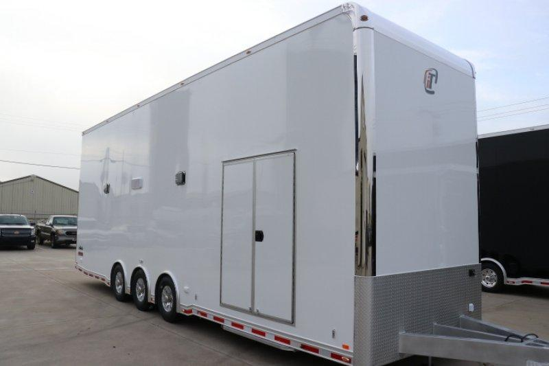 2019 inTech 32' All Aluminum Stacker Race Trailer