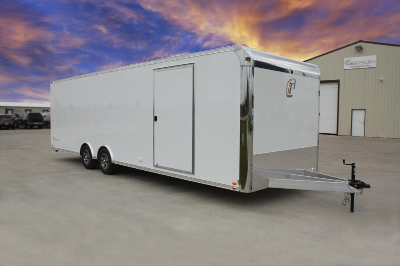2019 inTech 28' All Aluminum Tag Trailer - Lite Series Base  in Waverly, GA
