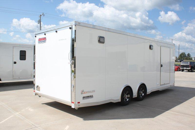 2019 inTech All Aluminum Tag Trailer With Full Size Escape Door