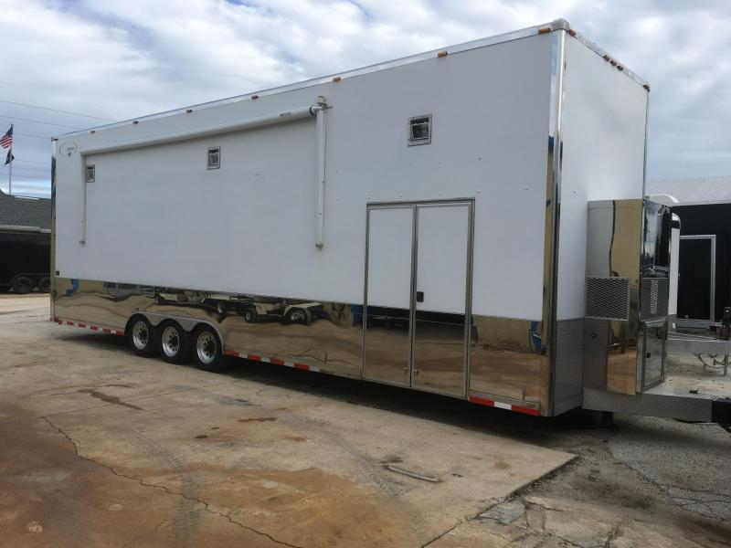 2009 Pony Express 34' Stacker Trailer