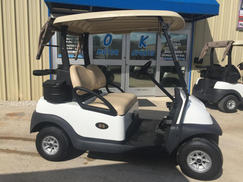 2014 Club Car Precedent Electric Golf Cart 2-Passenger White