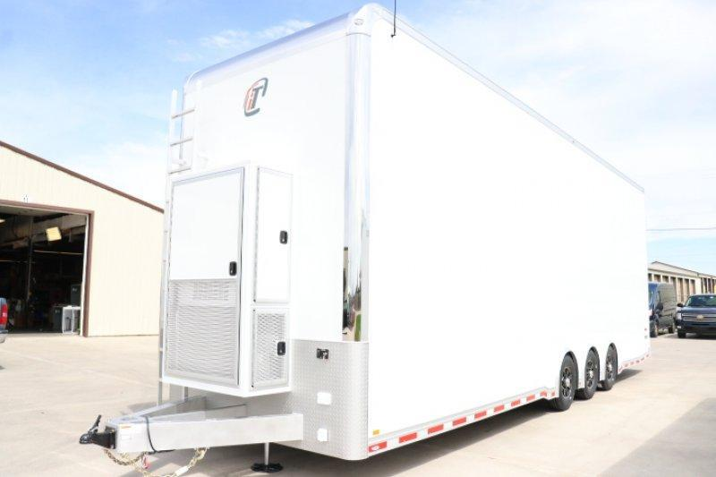 2019 INTECH 34' ALL ALUMINUM STACKER RACE TRAILER