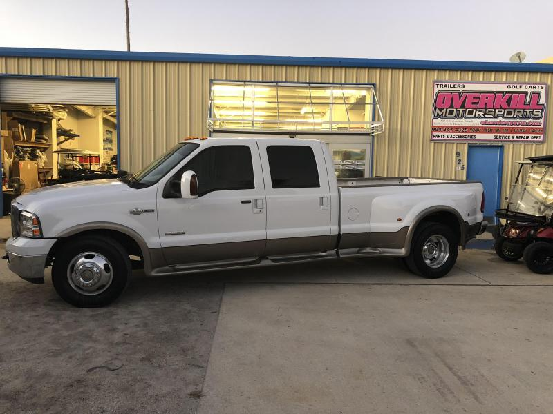 2005 Ford F-350 Crew Cab King Ranch- White