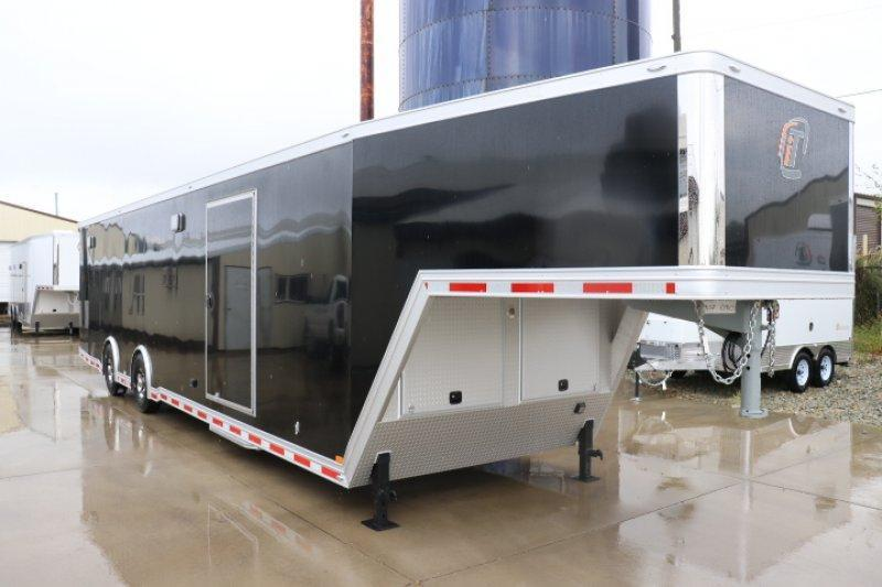 2019 inTech 40' All Aluminum Gooseneck Trailer