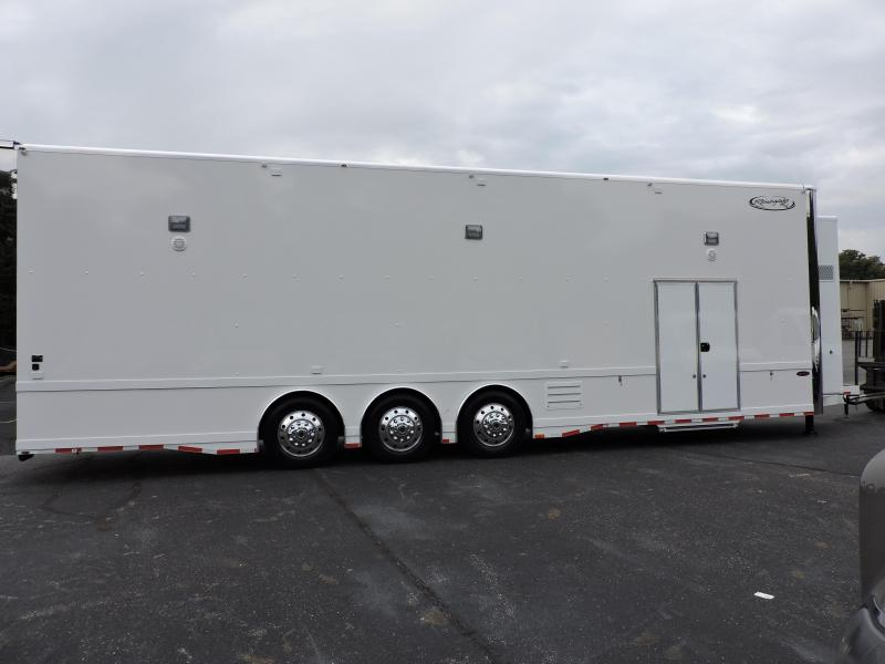 2019 Renegade 38' Hydraulic Lift Gate Stacker Trailer