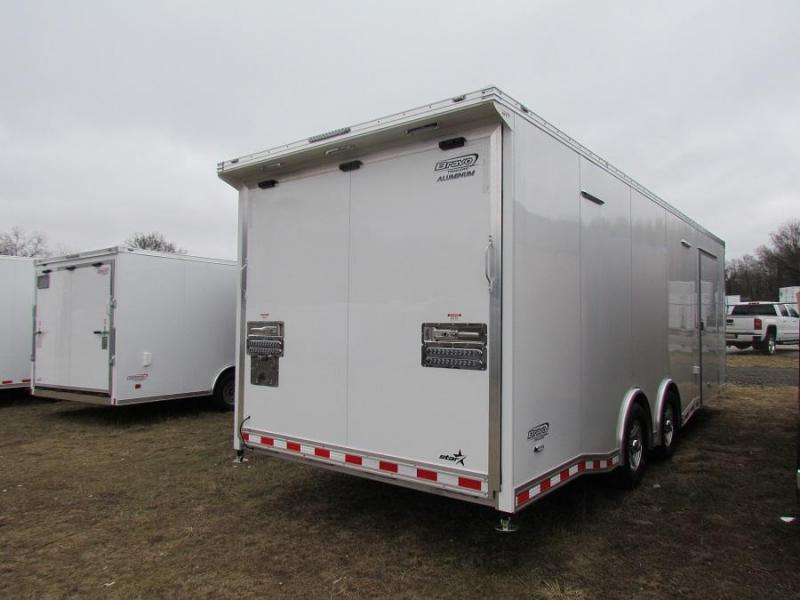 2019 Bravo Trailers ASTAP8524TA3  All ALUMINUM Car / Racing Trailer w/ Full Escape