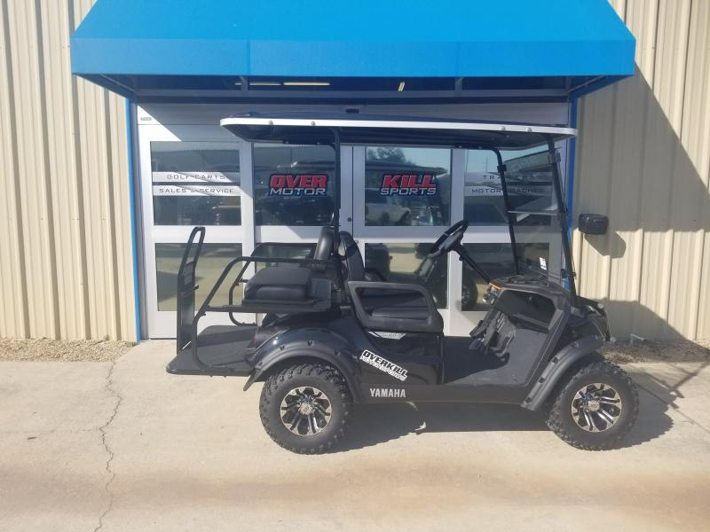 2019 Yamaha Adventurer Sport 2+2 Gas Golf Cart 4 Passenger - Black