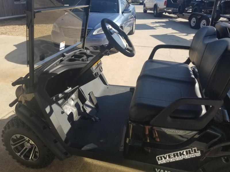 Yamaha Adventurer Sport 2+2 Gas Golf Cart 4 Passenger - Black