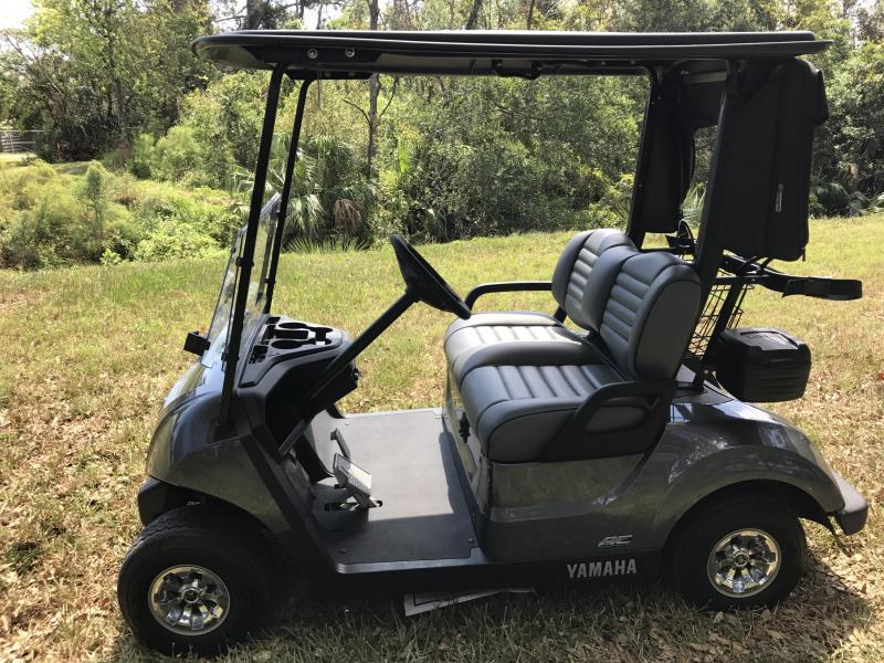 2017 Yamaha Drive2 PowerTech A/C Electric Golf Cart 2-Passenger Carbon