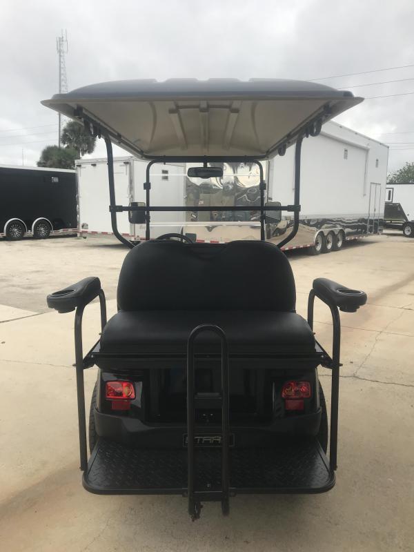 2018 StarEV 48V Classic Electric Golf Cart Street Legal 4-Passenger