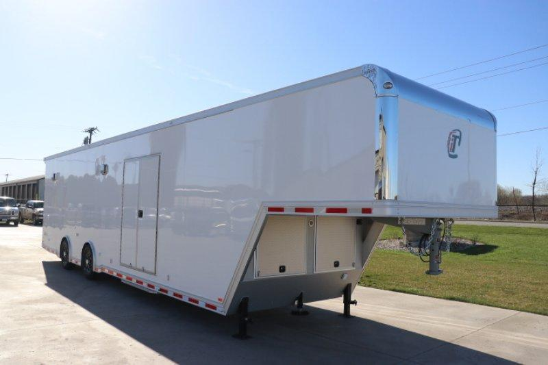 2018 inTech 40' All Aluminum Gooseneck Trailer