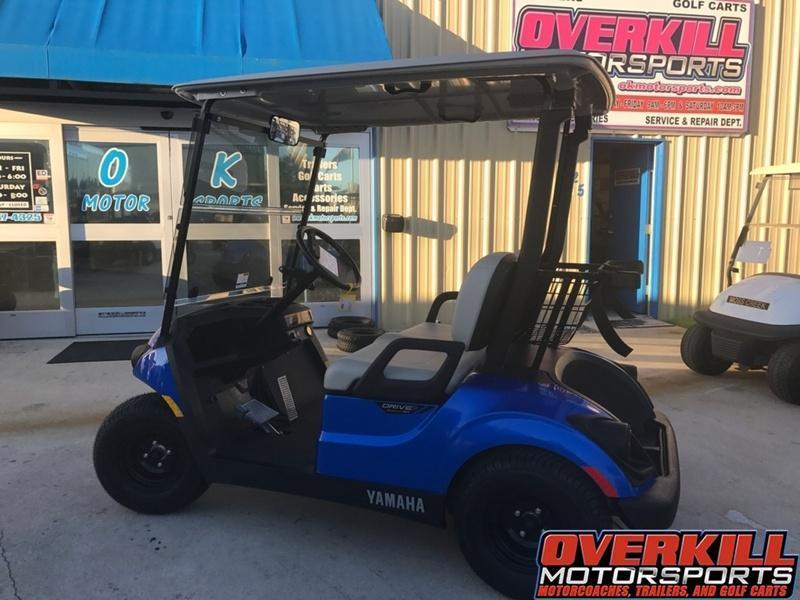 2019 Yamaha Drive2 PTV Quietech Gas Golf Cart EFI 2-Passenger in Brunswick, GA