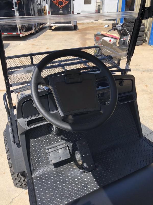 StarEV Sport 48V Electric Golf Cart Street Legal 4 Pass - Silver