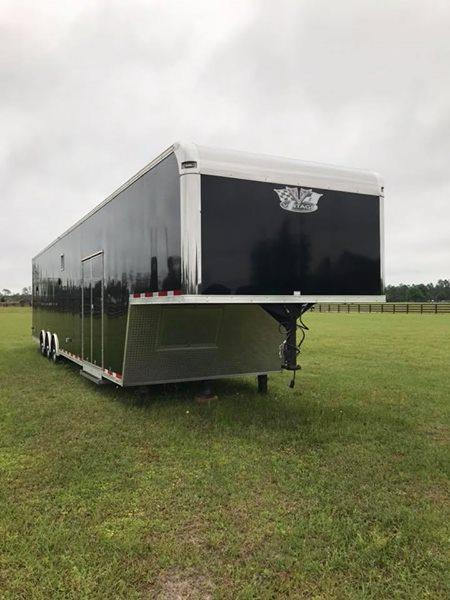 2017 Vintage 44 Gooseneck Outlaw- Loaded Race Trailer