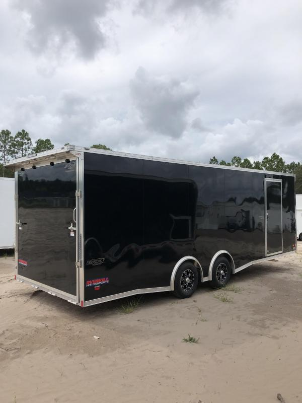 2019 Bravo Silver Star 24' Aluminum Tag Trailer W/ Full Escape Door