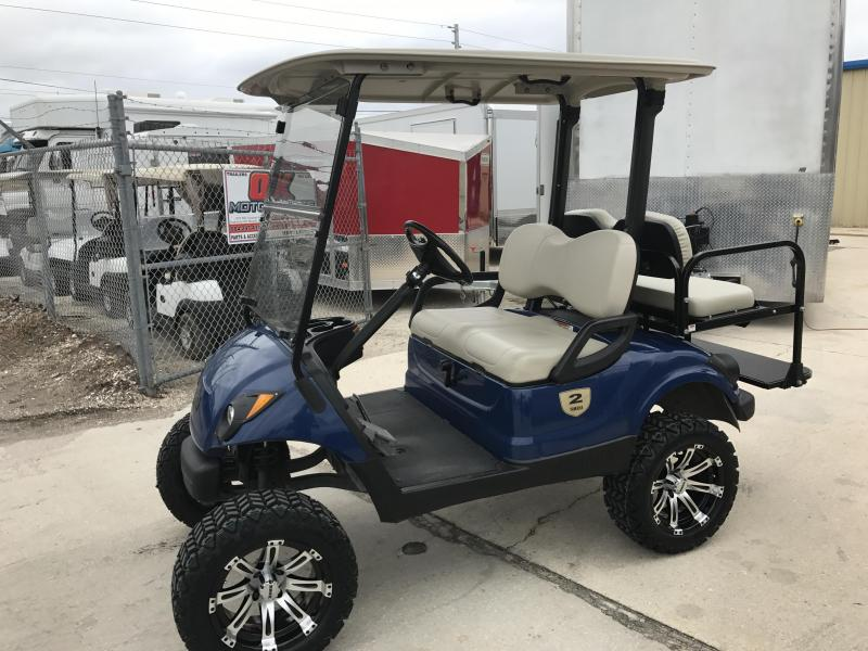 2013 Yamaha Drive Gas Golf Cart 4-Passenger Blue