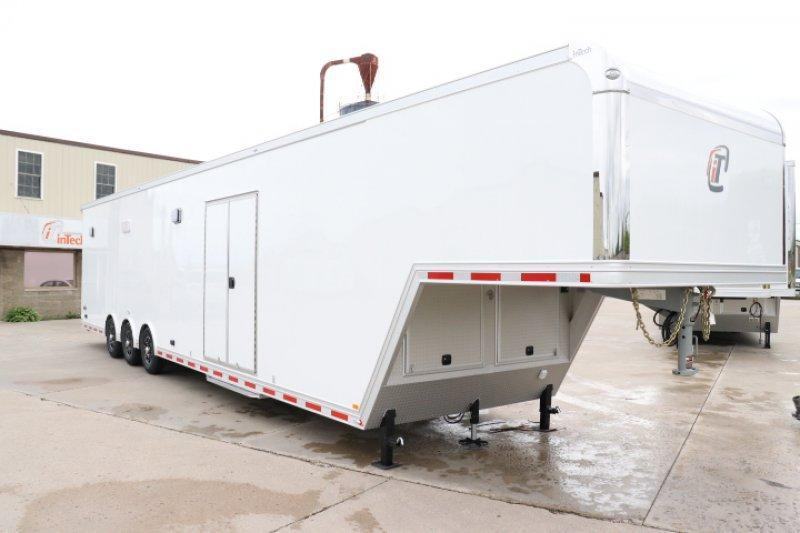 2019 inTech 44' All Aluminum Gooseneck Trailer