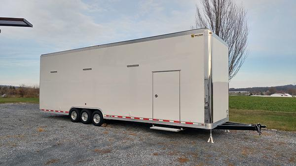 2018 Gold Rush 34' Tag Stacker Trailer w/ Dragster Lift
