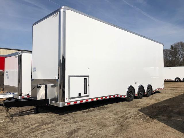 2019 Bravo 32' Stacker Trailer w/ 16' Singer Lift