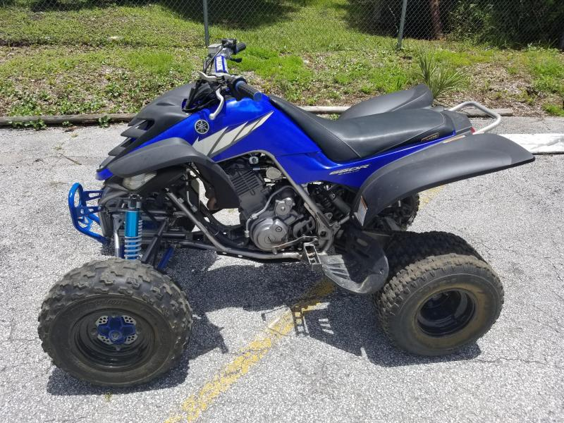 2005 Yamaha Raptor 660R ATV - Blue