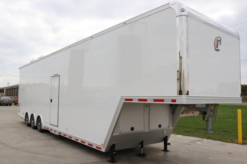 2019 inTech 42' iCon All Aluminum Gooseneck Sprint Car Trailer
