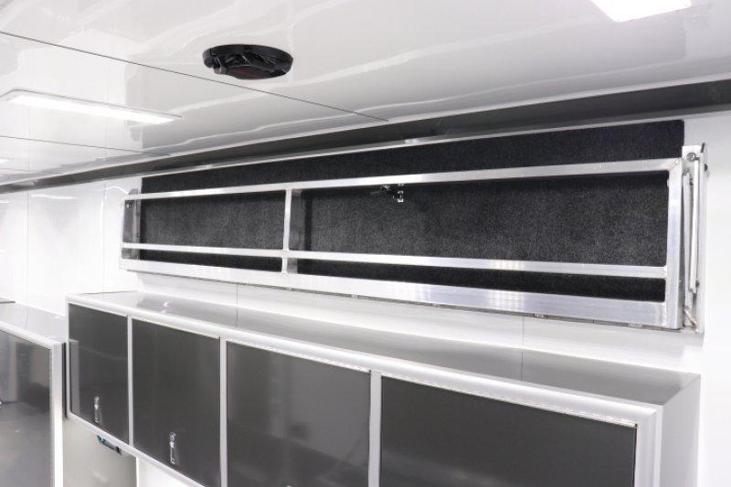2019 inTech 42' iCon All Aluminum Gooseneck Sprint Car Trailer