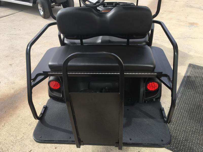 2019 Yamaha Drive 2 QuieTech EFI Gas Golf Cart  4 Passenger Black
