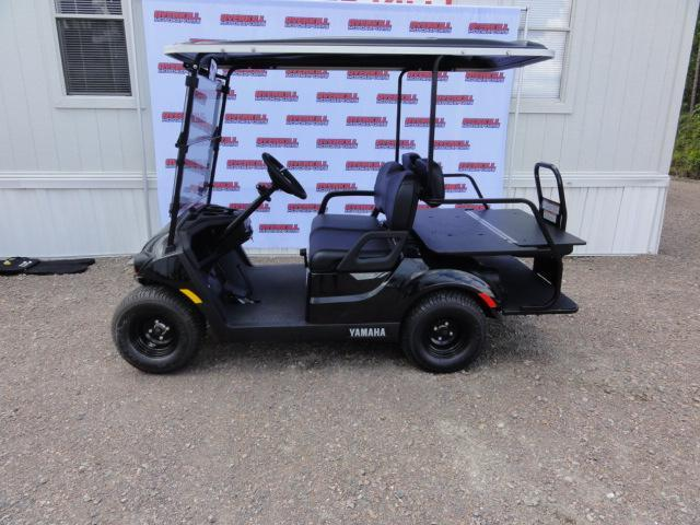 2020 Yamaha Drive 2 QuieTech EFI Gas Golf Cart  4 Passenger Black in Ashburn, VA