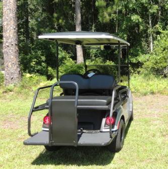 2020 Yamaha Drive 2 QuieTech EFI Gas Golf Cart  4 Passenger Black