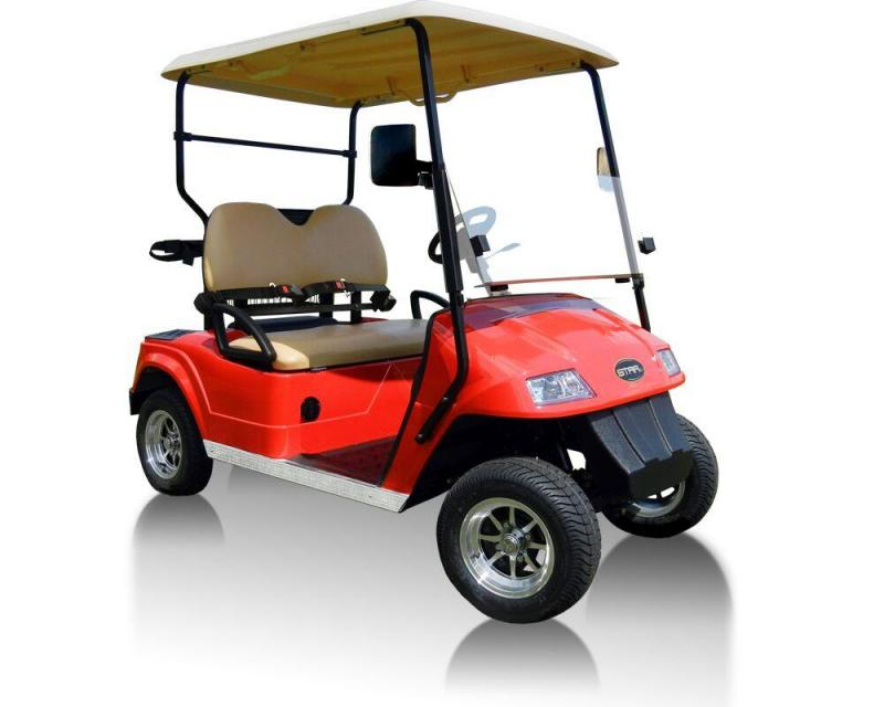 2018 StarEV Classic 48V Electric Golf Cart Street Legal 2 Pass
