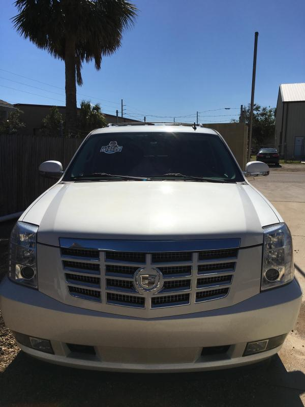 2010 Cadillac Escalade- White Diamond
