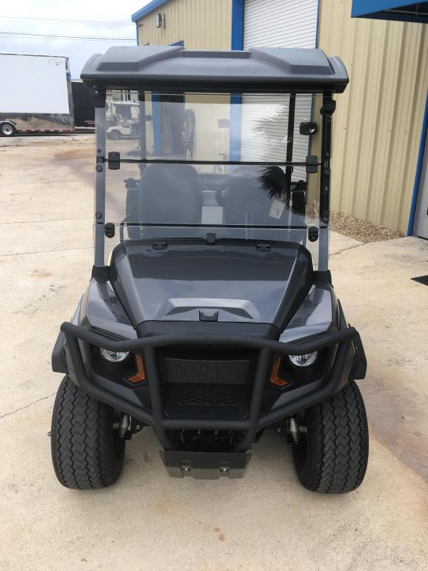 2019 Yamaha UMax One Gas Golf Cart 2 Passenger with Dump Bed - Silver