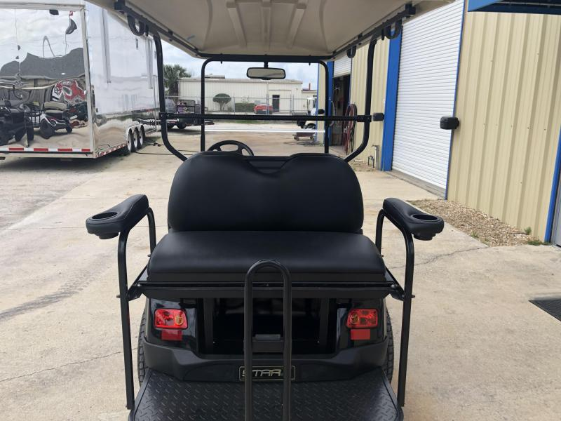 StarEV Classic 48V Electric Golf Cart Street Legal 4 Pass - Black