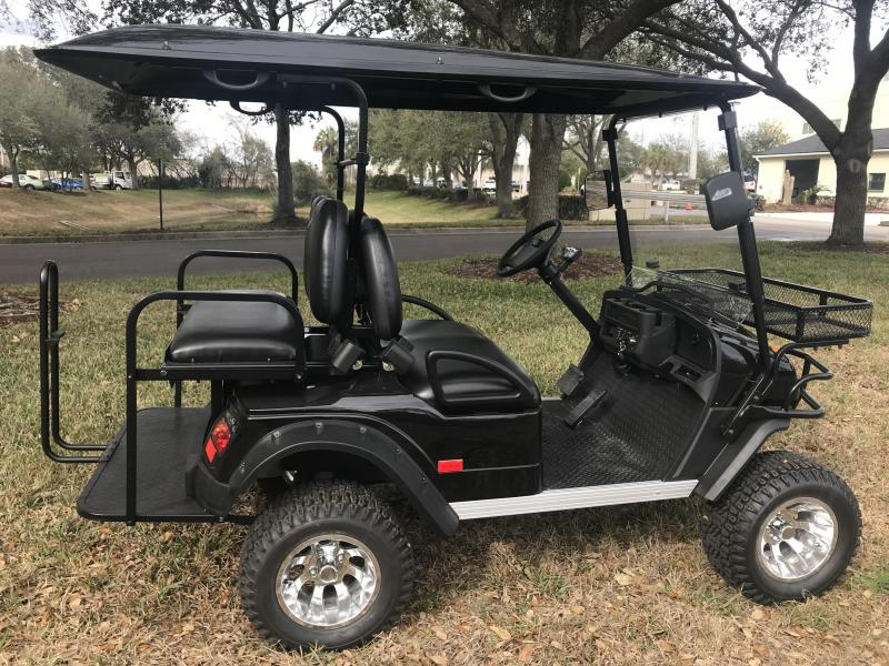 Black And Grey Golf Carts on beach buggy cart, grey fifth wheel, car cart,