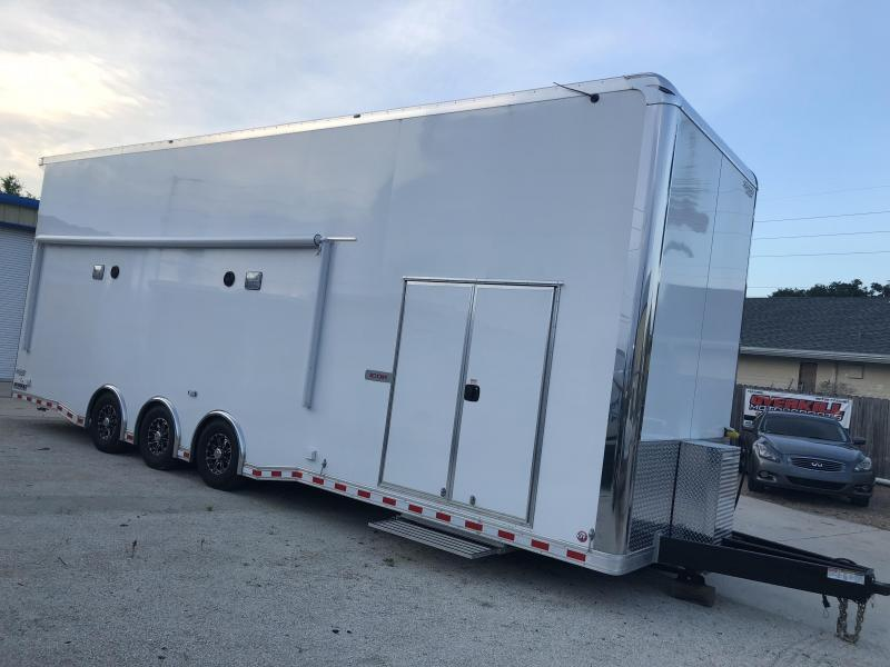 2019 Bravo 32' Stacker Race Trailer