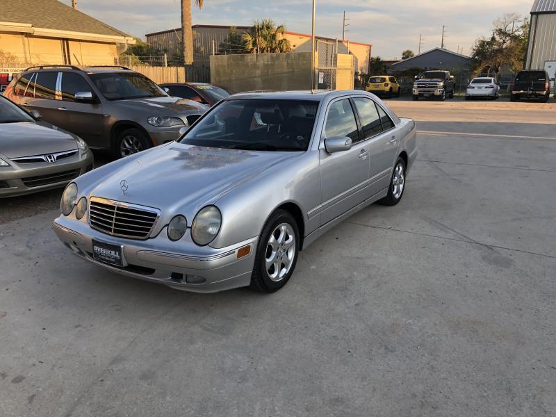 2002 Mercedes Benz E- Class- Silver