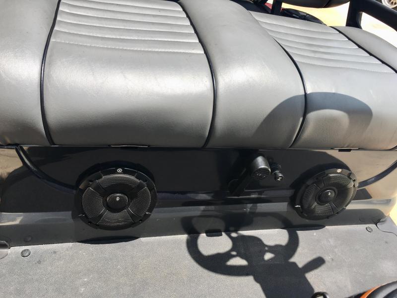2013 Yamaha Drive Gas Golf Cart 4 Pass - Gray