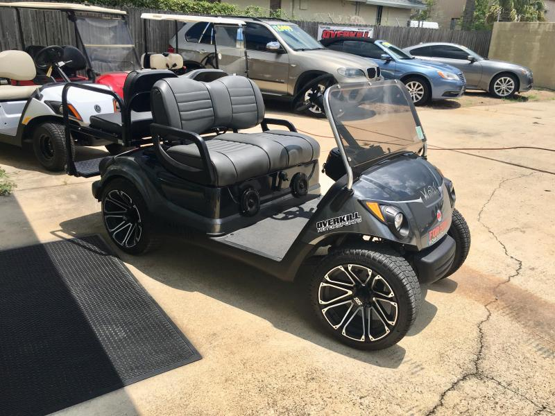 2013 Yamaha Drive Gas Golf Cart 4 Pass - Gray