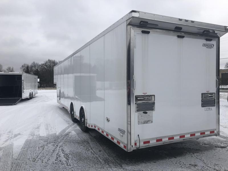 2019 Bravo 40' Aluminum Icon Gooseneck Trailer